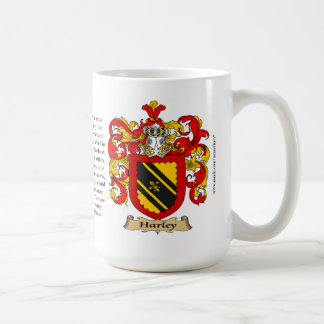 Harley, the Origin, the Meaning and the Crest Coffee Mug