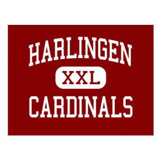 Harlingen - Cardinals - High - Harlingen Texas Postcards