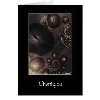 Harliquins Thankyou Greeting Card