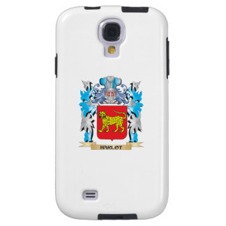 Harlot Coat of Arms - Family Crest Galaxy S4 Case