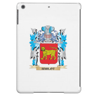 Harlot Coat of Arms - Family Crest iPad Air Cover