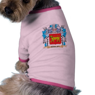 Harlot Coat of Arms - Family Crest Dog Shirt