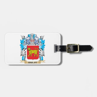 Harlot Coat of Arms - Family Crest Bag Tag