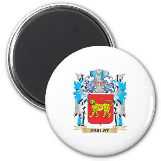 Harlot Coat of Arms - Family Crest Refrigerator Magnets