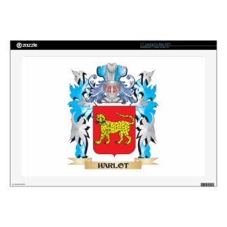Harlot Coat of Arms - Family Crest Skins For Laptops