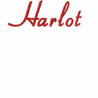 Harlot Embroidered T-shirt