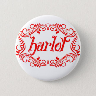 Harlot White Button