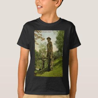 Harlow's Wooden Man Marquette, Michigan T-Shirt