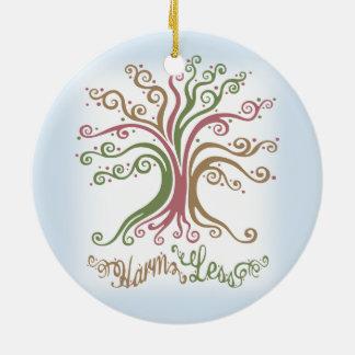 Harm Less Ceramic Ornament