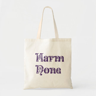 Harm None Budget Tote Bag