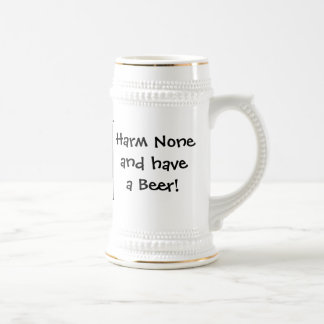 Harm None & have a Beer! Stein by Cheeky Witch!