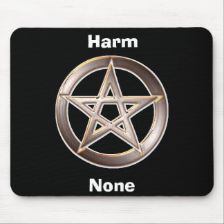 Harm None Mouse Pad