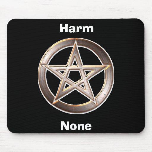 Harm None Mouse Mat