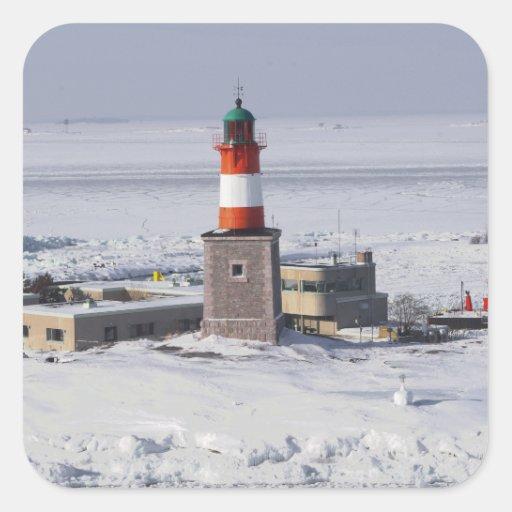 Harmaja Lighthouse Finland Sheet Of 20 Stickers