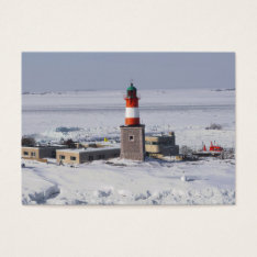 Harmaja Lighthouse Helsinki Finland ATC Bookmark Business Card at Zazzle