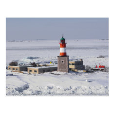 Harmaja Lighthouse Helsinki Finland Postcard at Zazzle