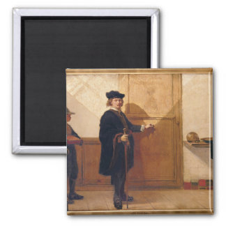 Harmensz van Rijn Rembrandt (1606-69) Knocking on Magnet