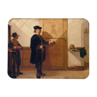 Harmensz van Rijn Rembrandt (1606-69) Knocking on Rectangular Magnet