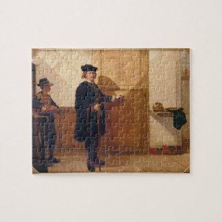 Harmensz van Rijn Rembrandt (1606-69) que golpea e Puzzles