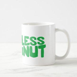 HARMLESS NUT Mug green text