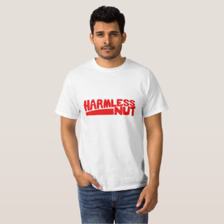 HARMLESS NUT T-shirt  red text