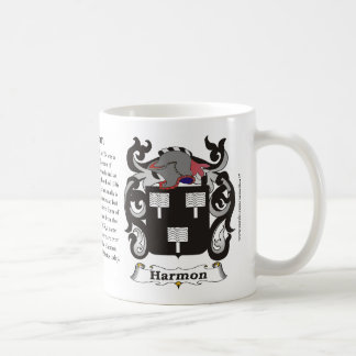Harmon Family Coat of Arms Mug