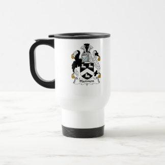 Harmon Family Crest Mug