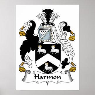Harmon Family Crest Print