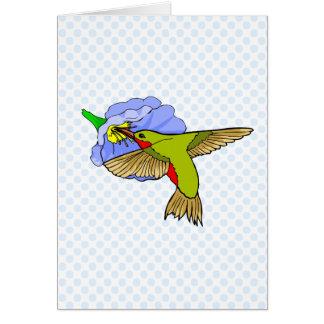 Harmon Hummingbird Card
