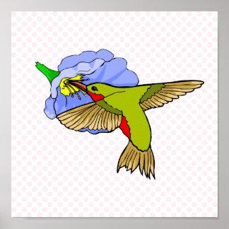 Harmon Hummingbird Print