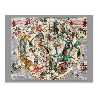 Harmonia celestial tarjeta postal