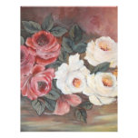 Harmonia de Rosas - óleo - 40x60 Full Color Flyer