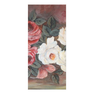 Harmonia de Rosas - óleo - 40x60 Lona Personalizada