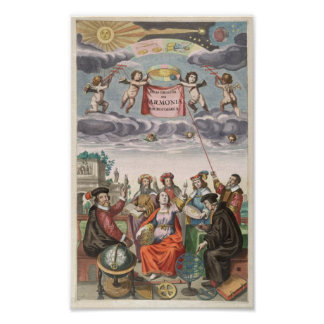 Harmonia Macrocosmica of Andreas Cellarius Poster