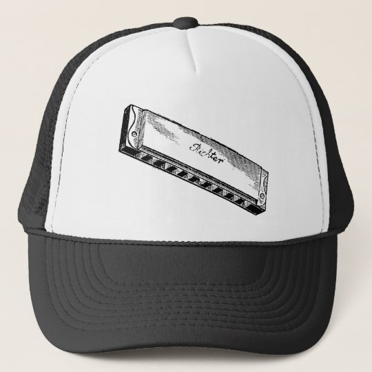 Harmonica/Blues Harp Trucker Hat