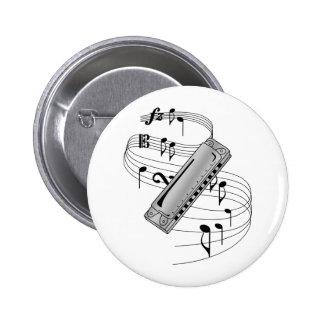 Harmonica Button