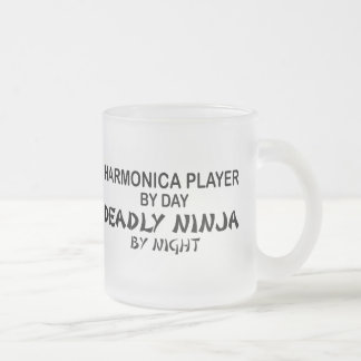 Harmonica Deadly Ninja by Night Coffee Mug