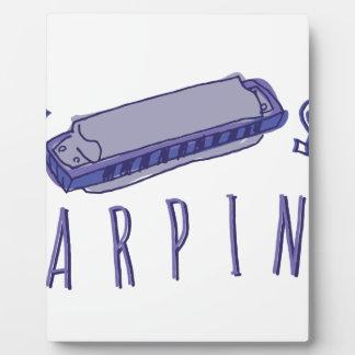 Harmonica Harpin Plaque