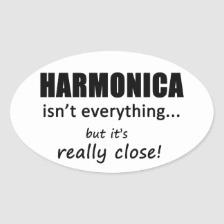 Harmonica Isn't Everything Stickers