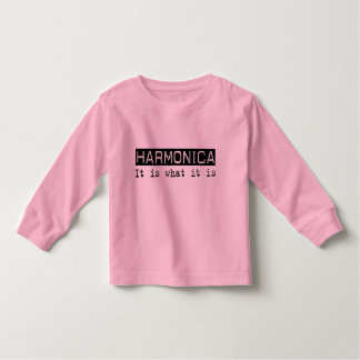 Harmonica It Is Toddler T-shirt