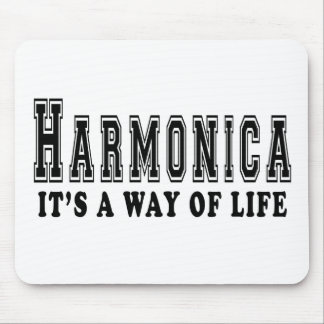 Harmonica. It's way of life Mouse Pad
