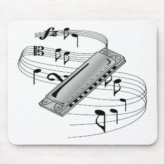 Harmonica Mouse Mats