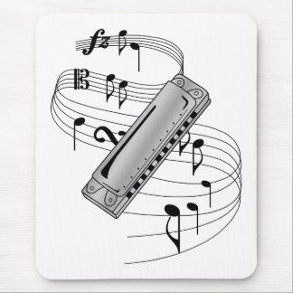 Harmonica Mouse Pad