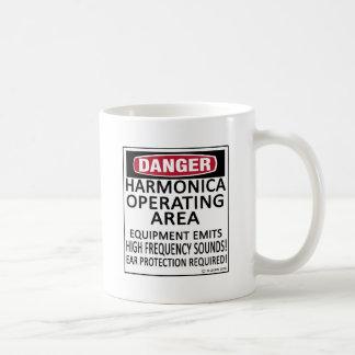 Harmonica Operating Area Mug