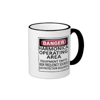 Harmonica Operating Area Coffee Mug
