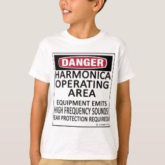 Harmonica Operating Area T-Shirt
