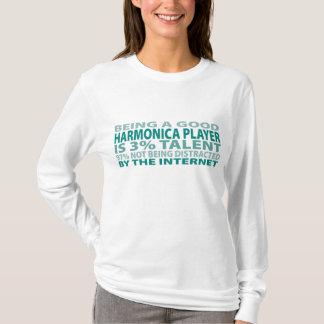 Harmonica Player 3% Talent T-Shirt