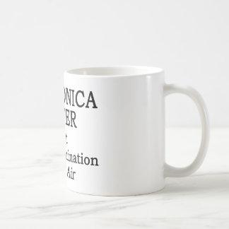 Harmonica Player Hot Air Classic White Coffee Mug