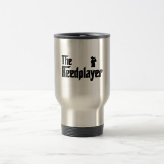 Harmonica Player Stainless Steel Travel Mug