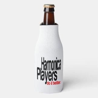 Harmonica Players Do It Better Bottle Cooler